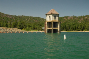 Canyon Dam Outlet - Lake Almanor